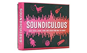 Gamely Soundiculous: The Hilarious Pocketsize Party Game of Ridiculous Sounds