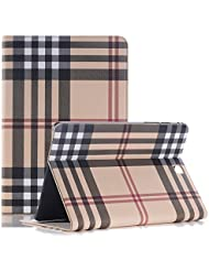 iPad funda, elecfan® libro folio Buzón Stand Espacio cuero PU magnética con Incluso Dormir inteligente/Wake Característica Caso cubierta protectora para iPad