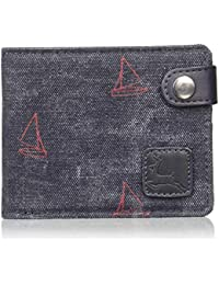 Parx Blue Men's Wallet (XZLW00135-B8)