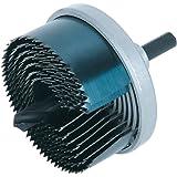 Wolfcraft 2164000 Scie cloche 7 L P23 Diamètre 25/32/38/45/50/56/62 mm Argent