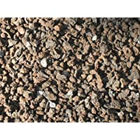50 kg (Vergleichspreis 10,36 Euro bei 20 Liter) Lava Mulch 2-8 mm - Pflanzgranulat Lavastein Lavasteine Lavamulch Dachbegrünung Lavagranulat - LIEFERUNG KOSTENLOS