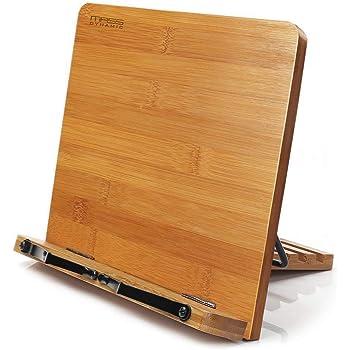 Leggio da cucina in bambù, pieghevole leggio stand, Cook ricetta ...