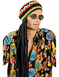 Jamaican Hat with dreadlocks