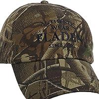 Fladen Angeln Authentic Wear 100% Baumwolle getarnt Schirmmütze Baseball Cap–Hervorragende Sonne Wetter Schutz Während Angeln [22-aw1833C]