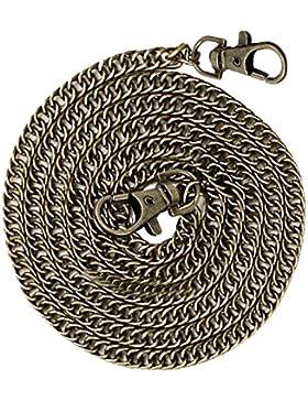 Vococal® 120cm Lang Eisen Ersatz Zopf Handtaschen Taschen Kette Umhängetaschen Schulter Kette Crossbody Kette...