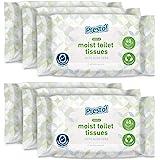 Amazon-merk - Presto! zachte vochtige toiletweefsels - Aloë Vera - fijn om te spoelen, verpakking van 240 (40 weefsels x 6 ve