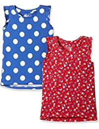 Mothercare Girls' Vest (Pack of 2)