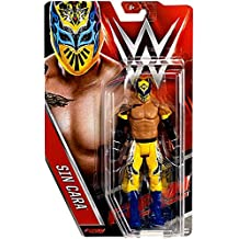 WWE Básico Serie 62 Figura De Acción - Sin Cara (NXT Amarillo Atuendo)
