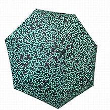 Paraguas plegable Bisetti Cactus Negro