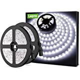 Lepro Daylight White LED Strip Lights 10M, 2400lm Bright Lightstrip for Home Cinema, Kitchen Cabinet, Bedroom or More, Pack o