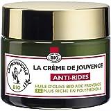 La Provençale – La Crème de Jouvence Anti-Rides – Soin Visage Certifié Bio – Huile d'Olive Bio AOC Provence – Pour Tous Types