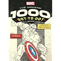 The Amazing Marvel 1000 Dot-to-Dot Book  (1): Twenty Comic Characters to Complete Yourself - Completa Dot Dot