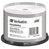 Verbatim CDR80 700MB 52x (50) Huso 43745 Blanco imprimible sin identificación