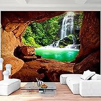 Fototapete 3d Effekt Wasserfall