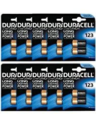 Box of 20 x Duracell 123 123A DL123A CR123A Ultra Photo Lithium Batteries 3V UK Stock