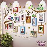Galleria fotografica X&L 7 pollici cornice parete soggiorno camera da letto tinta legno qualità fotografica creativa decorazione muro...