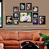 [Sponsored]Set Of Photo Frames Classic Set Of 11 Individual Photo Frames (6-4x4, 2-4x6, 2-5x7 & 1-8x10) - By Printelligent