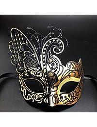 CCUFO Masque De Mascarade pour Les Femmes Masque Vénitien / Halloween / Partie / Bal De Bal / Mardi Gras / Mariage / Décoration Murale