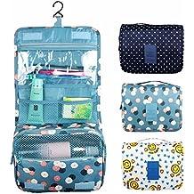 Bluelover Impermeabile lavare ordinata trousse trucco compatto Storage Bag caso bagno Mesh organizzatore - n. 8