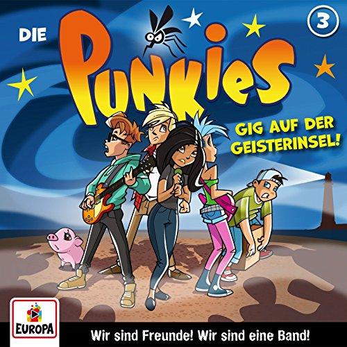 Die Punkies (3) Gig auf der Geisterinsel - Europa 2017