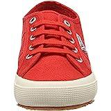 Superga 2750 COTU CLASSIC, Sneaker Unisex - Adulto, Rosso (Red 975), 37 EU