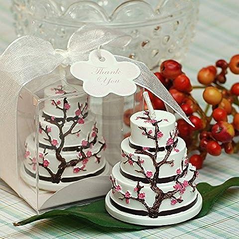 Compleanno di candele,candele di festa,il Creative candele,fiori ciliegio dolce