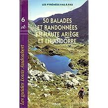 50 balades et randonnées en Haute-Ariège et en Andorre