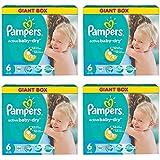 """Pampers Windeln Active Baby Dry XL Gr. """"6"""" 15+ Kg Bis zu 396 Stk Monatsbox"""