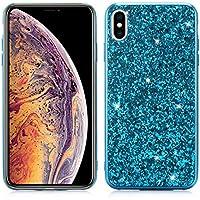 Yobby Bling Glitzer Funkeln Hülle für iPhone XR 6.1 inch, iPhone XR Handyhülle Luxus Mode Design,Hart PC Zurück... preisvergleich bei billige-tabletten.eu