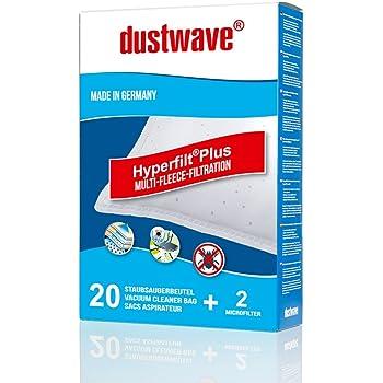 Amazon.de: 20 dustwave Staubsaugerbeutel für Progress