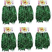 Pompoms Cheerleader 2x Tanzwedel Pom Poms Kostüm Party Weihnachten Tanzpuschel