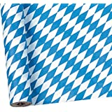 Susy Card 11067121 Bayern - Rollo de mantel para mesa (troquelado, papel, estampado, 1,20 x 7 m)