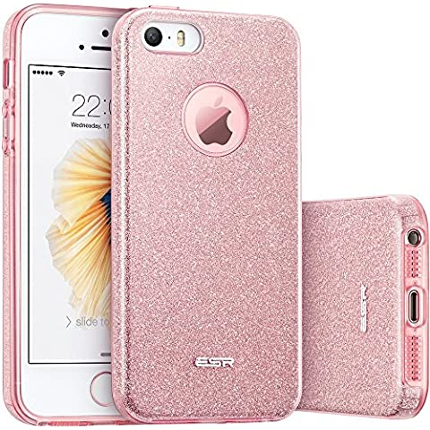 ESR iPhone SE/5S/5 Funda, Oro Rosa