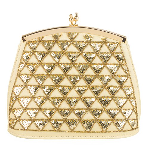 Farfalla 90389, Pochette donna Oro (oro)