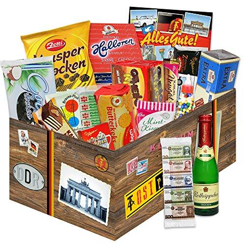 Preisvergleich Produktbild Geschenke Süßigkeiten / Geschenke zu Weihnachten für Frauen / DDR Box