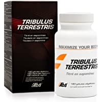 Tribulus terrestris - 470 mg / 180 gélules végétales - Titré à 40 % min. en saponines - Booster de testostérone - Effet…