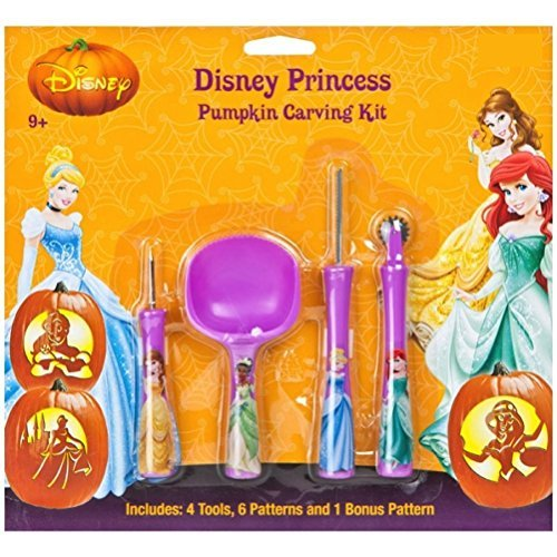 Disney Princess Prinzessin Kürbis Schnitzset Pumkin Carving Kit