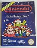Club Nintendo Magazin SNES Super Nintendo NES GB (u.a. über Aladdin Mario All Stars Street Fighter 2 Turbo Goof Troop Mario Kart Jurassic Park ) Spieleberater Zeitschrift Ausgabe 6 Dez. 1993