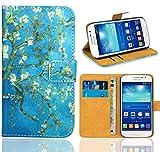 Samsung Galaxy Grand Neo Plus Custodia Cover Case, FoneExpert Flip Cover Case Custodia Pelle accessori Protective Cover per Samsung Galaxy Grand Neo Plus i9060i i9060 i9062 (Pattern 8)