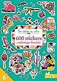 Telecharger Livres 600 stickers et coloriages fantaisie (PDF,EPUB,MOBI) gratuits en Francaise