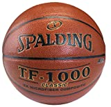 "Spalding TF-1000 Classic Indoor Basketball - Official Size 7 (29.5"") - Spalding - amazon.co.uk"