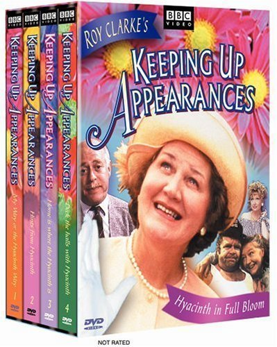 Keeping Up Appearances - Hyacinth in Full Bloom Set (Vol. 1-4) by BBC Video
