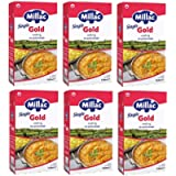 Millac Gold Single Cooking Cream Alternative for Professionals, 1 Litre (Pack of 6)
