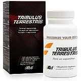 TRIBULUS TERRESTRIS * Estimulante natural de testosterona * Altamente titulado en saponinas (40%) * 470 mg / 180 cápsulas veg