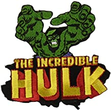 "The Incredible increíble HULK Reach Alcance PATCH PARCHE, Officially Licensed Marvel's Comic Superhero Artwork Iron-On / Sew-On, 3.1"" x 3.3"" Embroidered bordado PATCH PARCHE"