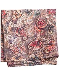 Vibhavari Men's Pocket Square - Paisley Design