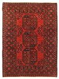 CarpetVista Afghan Teppich 102x143 Orientalischer Teppich