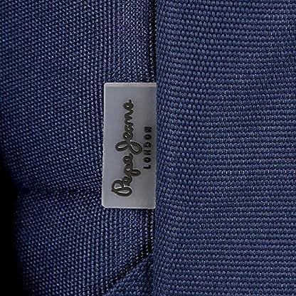 61  BvB0nbL. SS416  - Pepe Jeans Cross Neceser de Viaje, 22 cm, 1.32 litros, Azul