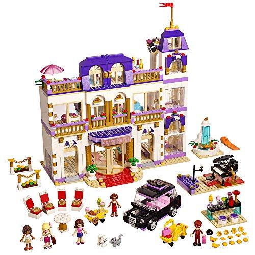 LEGO Friends 41101 Heartlake Grand Hotel Building Kit by LEGO (Lego Hotel)