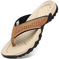 Voovix Infradito Uomo Estive Flip Flop Sandali Sportivi Piatti Pantofole da Spiaggia Ciabatte Infradito e Mare Adulto